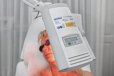 Hautkrebsbehandlung - photodynamische Therapie