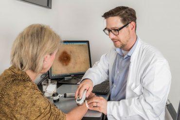 Muttemalkontrolle Hautkrebs-Untersuchung Dr. Schnitzler Zürich-Enge