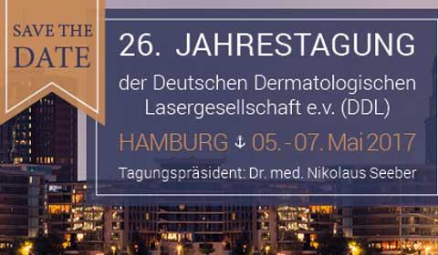 Besuch der Jahrestagung der Deutschen Dermatologischen Lasergesellschaft in Trier