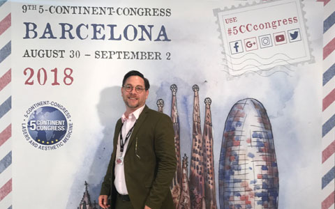 Teilnahme am 5CC Kongress (5 Continent Congress) in Barcelona
